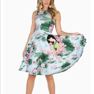 Blackmilk Reflection Princess Midi Dress
